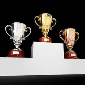 Der Ablauf von Siegerehrungen