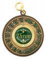Medaille bronze mit Auflage nach Wunsch