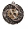 """Medaille """"Brauron"""" Ø 50 mm inkl. Wunschemblem und Kordel - Farbe - bronze"""