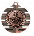 """Medaille """"Hemera"""" Ø 50 mm inkl. Wunschemblem und Kordel - Farbe - bronze"""