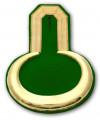 Epauletten gold (ein Paar) - Farbe - gold-grün