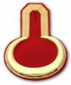 Epauletten gold (ein Paar) - Farbe - gold-rot