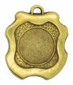 """Medaille """"Milet"""" Ø 45mm mit Wunschemblem und Band - Farbe - bronze"""