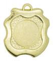 """Medaille """"Milet"""" Ø 45mm mit Wunschemblem und Band - Farbe - gold"""