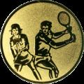 Emblem 25mm Doppel Mix, gold