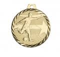 "Medaille ""Fußball"" - Farbe - gold"