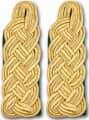 Schultergeflechte 24114 Schultergeflechte - Majorsgeflechte gold