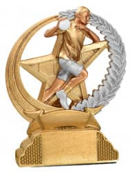 Trophäe Handballer FS31317 gold