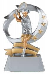 Trophäe Tennisspielerin FS61412 silber