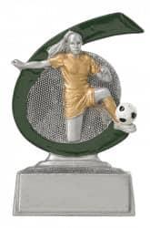 Fußballerinpokal C650 silber