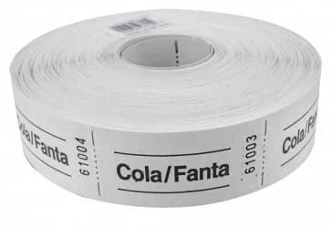 "Rollenbons ""Cola/Fanta"" 1000 Abrisse"