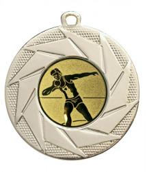 """Medaille """"Briareos"""" Ø 50 mm inkl. Wunschemblem und Kordel gold"""