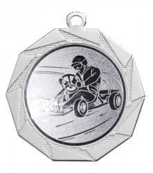 """Medaille """"Kottos"""" Ø 70 mm inkl. Wunschemblem und Kordel silber"""