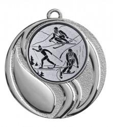 "Medaille ""Brontes"" Ø 45 mm inkl. Wunschemblem und Kordel silber"