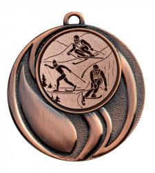 """Medaille """"Brontes"""" Ø 45 mm inkl. Wunschemblem und Kordel bronze"""