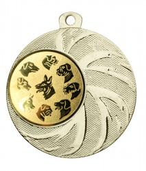 """Medaille """"Arges"""" Ø 45 mm inkl. Wunschemblem und Kordel gold"""