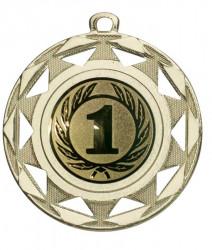 """Medaille """"Okeanos"""" Ø 50 mm inkl. Wunschemblem und Kordel gold"""