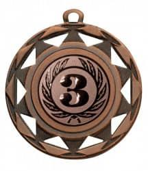 """Medaille """"Okeanos"""" Ø 50 mm inkl. Wunschemblem und Kordel bronze"""