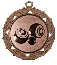 "Medaille ""Hyperion"" Ø 70 mm inkl. Wunschemblem und Kordel bronze"