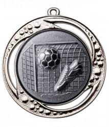 "Medaille ""Tartaros"" Ø 70 mm inkl. Wunschemblem und Kordel silber"