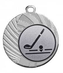 "Medaille ""Apate"" Ø 40 mm inkl. Wunschemblem und Kordel silber"