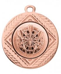 """Medaille """"Pontos"""" Ø 40 mm inkl. Wunschemblem und Kordel bronze"""