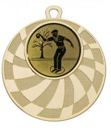 """Medaille """"Phorkys"""" Ø 50 mm inkl. Wunschemblem und Kordel gold"""
