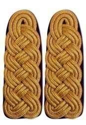 Schultergeflecht - Majorsgeflecht gold