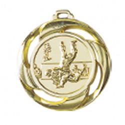 "Medaille ""Judo"" Ø 40mm mit Band Gold"