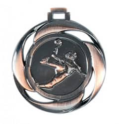 "Medaille ""Handball"" Ø 40mm mit Band Bronze"