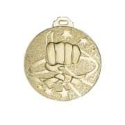 "Medaille ""Karate"" gold"