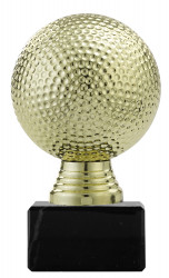 "Pf308 1 Ballpokal ""Golf"" PF308.1 gold"