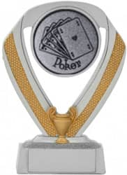 Pokerpokale 3er Serie C533-POK 14 cm