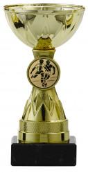 SALE: Pokale 3er Serie S1212 gold 11 cm