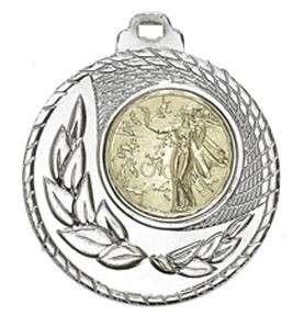 SALE: Medaille Kamiros Ø 50mm mit Wunschemblem und Band