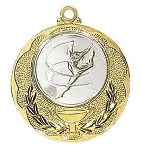 Medaille Knossos Ø 40mm mit Wunschemblem und Band