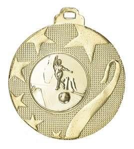 Medaille Olynth Ø 40mm mit Wunschemblem und Band