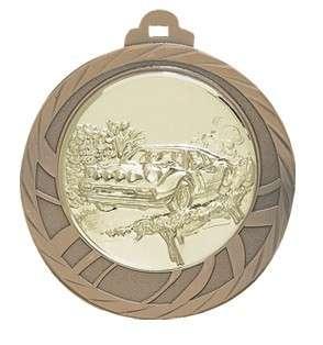 Medaille Eloro Ø 70mm mit Wunschemblem und Band