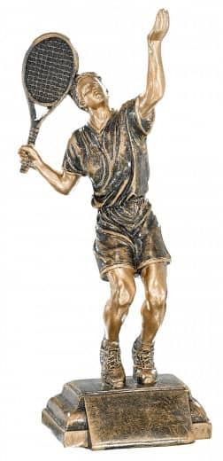 Trophäe Tennisspieler FS52531 bronze