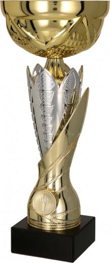 Pokale 3er Serie TRY-7182 gold-silber