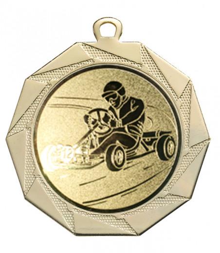 Medaille Kottos Ø 70 mm inkl. Wunschemblem und Kordel