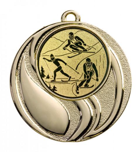 Medaille Brontes Ø 45 mm inkl. Wunschemblem und Kordel