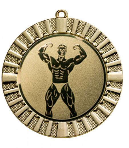 Medaille Steropes Ø 70 mm inkl. Wunschemblem und Kordel