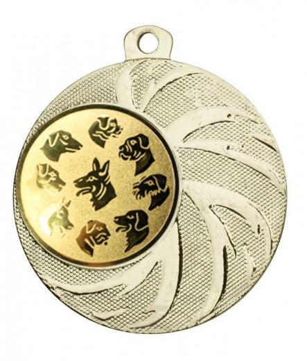 Medaille Arges Ø 45 mm inkl. Wunschemblem und Kordel