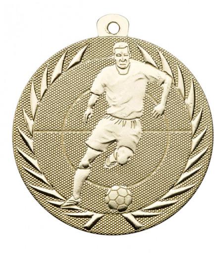 Fußballmedaille Spieler Ø 50 mm inkl. Kordel