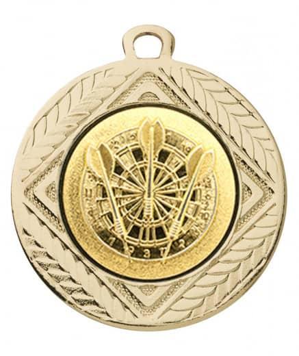Medaille Pontos Ø 40 mm inkl. Wunschemblem und Kordel
