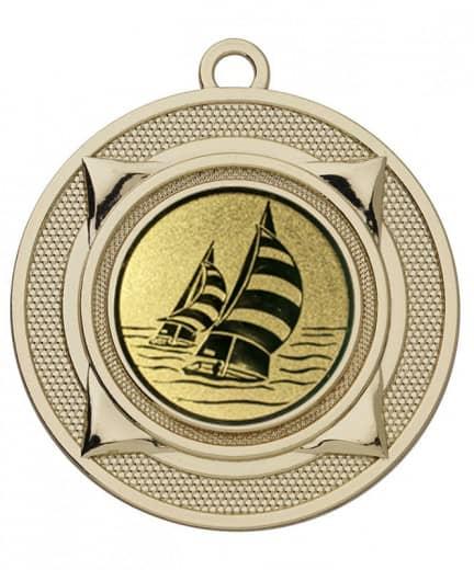 Medaille Nereus Ø 50 mm inkl. Wunschemblem und Kordel