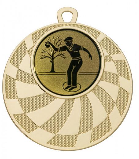 Medaille Phorkys Ø 50 mm inkl. Wunschemblem und Kordel
