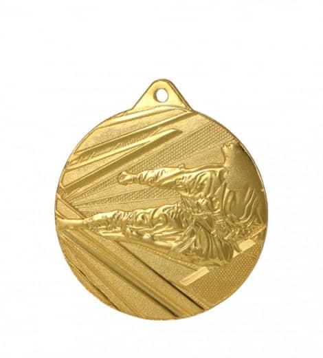 Medaille Karate 1 Ø 50mm mit Band