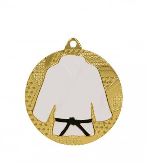 Medaille Judo Ø 50mm mit Band